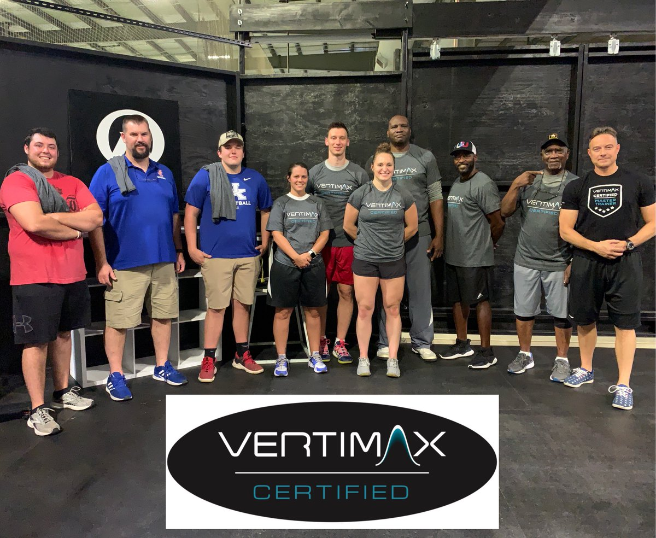 vertimax certified trainers