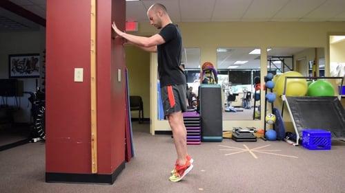 Isometric Exercise Calf Raise Hold