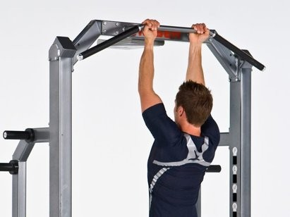 Isometric Exercise Flexed Arm Hang