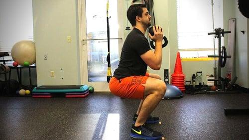 Isometric Exercise Goblet Squat