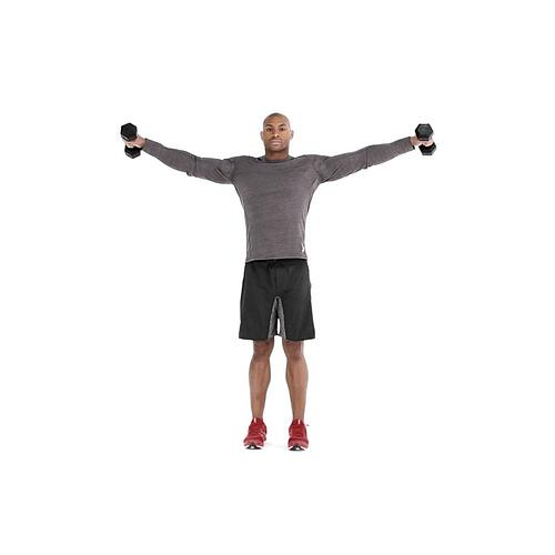 Isometric Exercise Lateral Shoulder Raise
