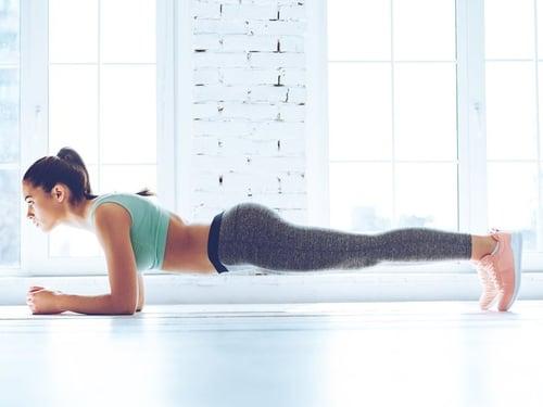 Isometric Exercise Plank