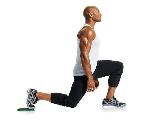 Isometric Exercise Split Squat