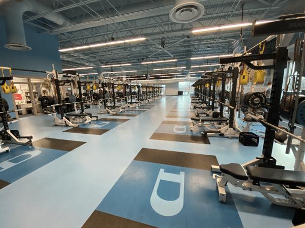 1-Dorman High School weight room