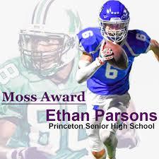 Ethan Parson Moss Award