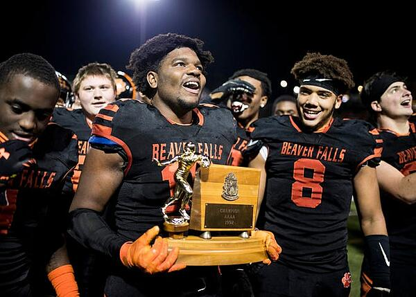 Josh Hough - 2020 HS Football Player of Year -Beaver Falls Times