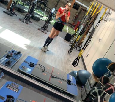 Oympic athlete - Monica Abbott on VertiMax V8