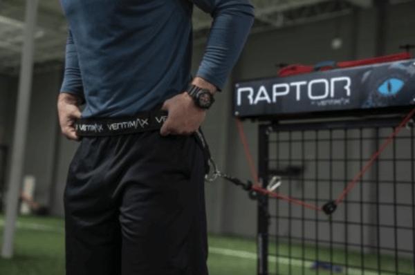 Raptor training with waist belt