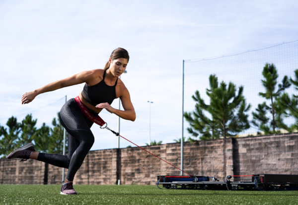 Train Outdoors For Agility On A VertiMax Platform