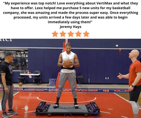 VertiMax Platforms For Basketball Training