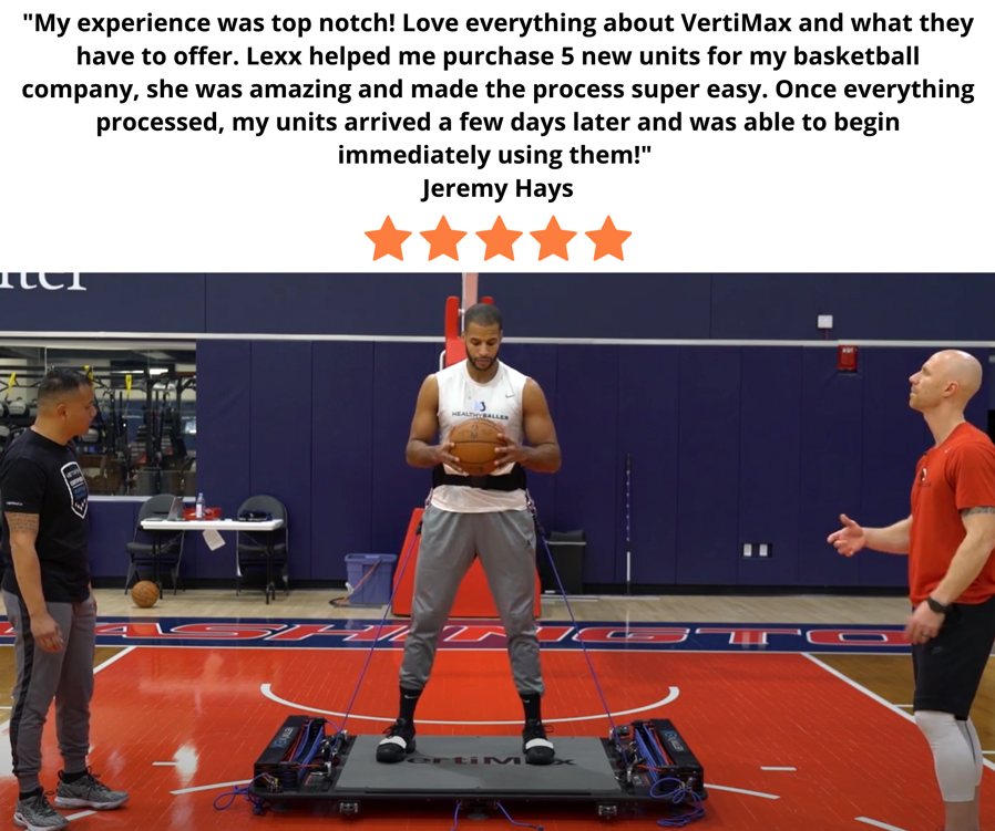 VertiMax V Series Platforms For Basketball Training