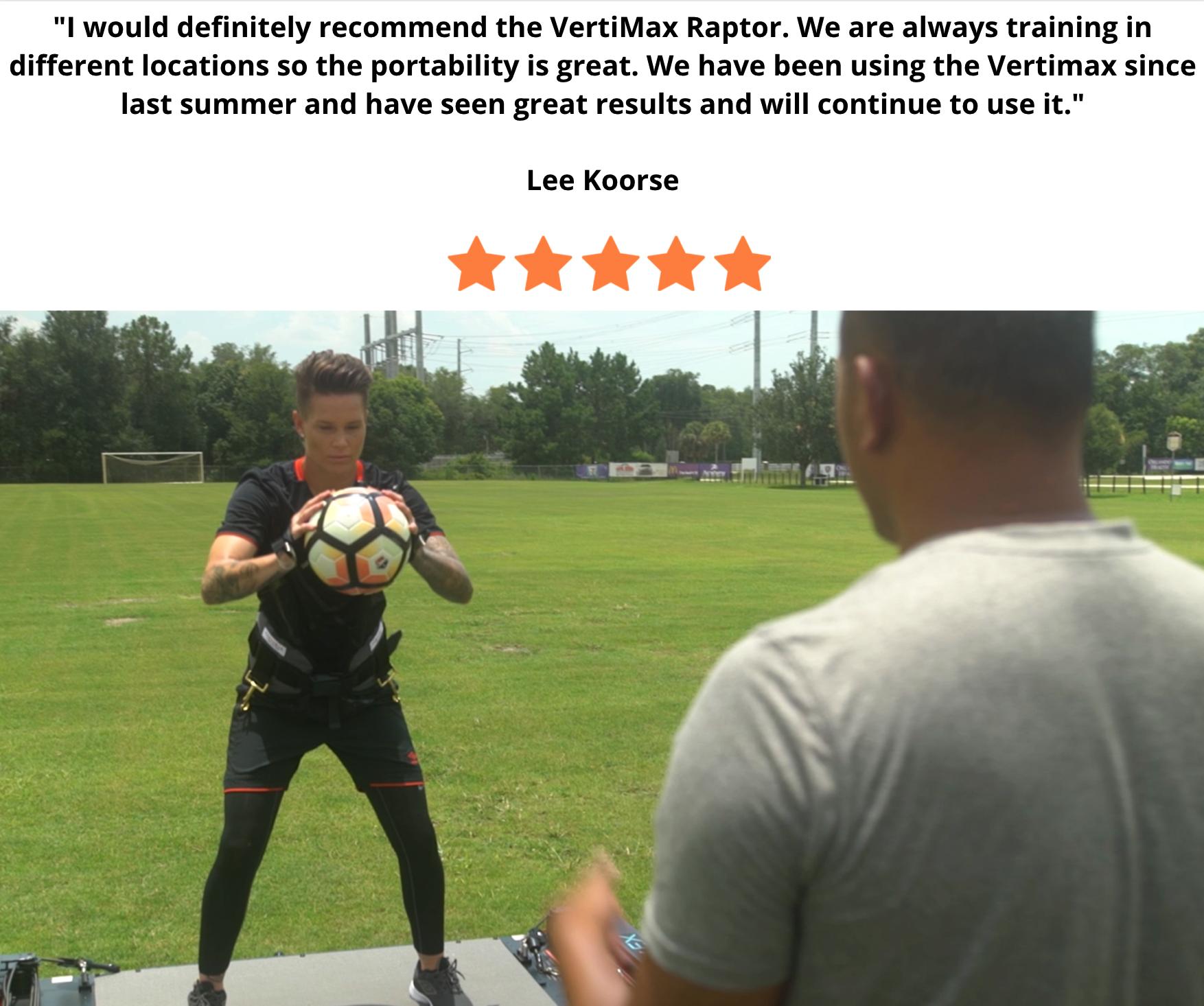 outdoor soccer training vertimax v8