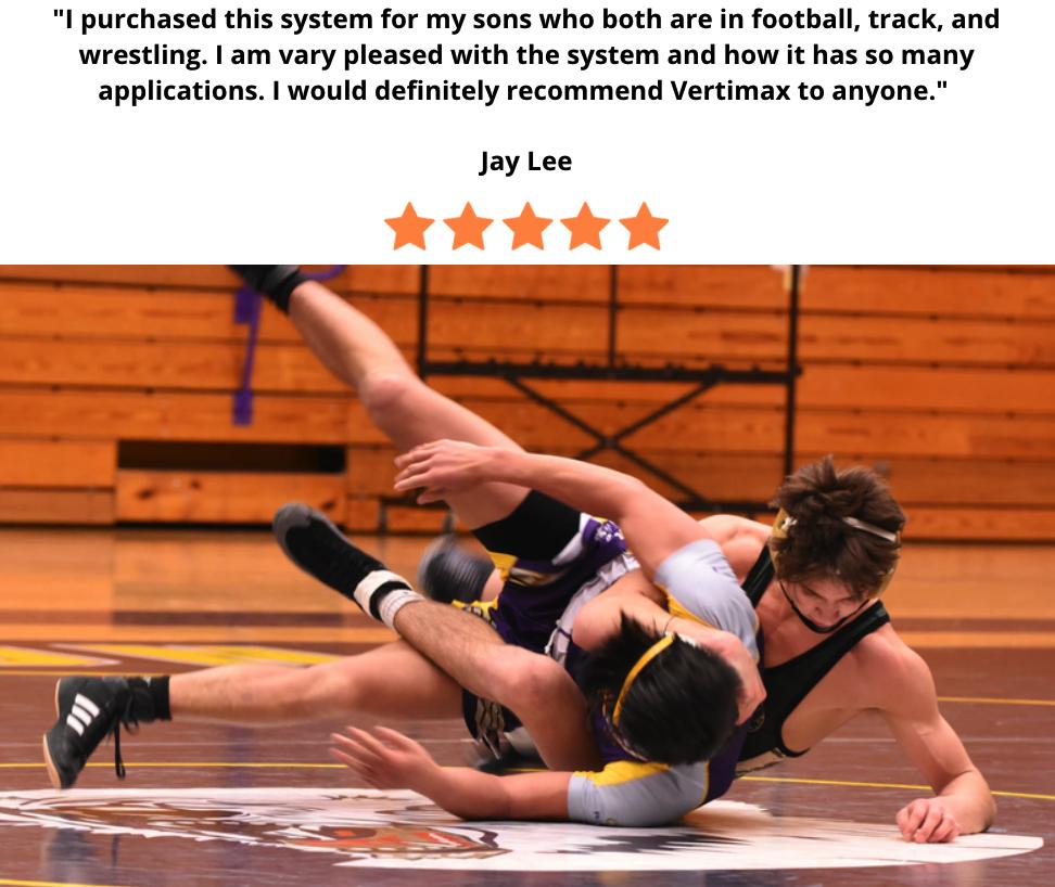 wrestling athlete