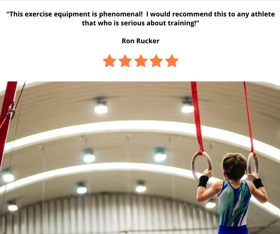 gymnast training equipment