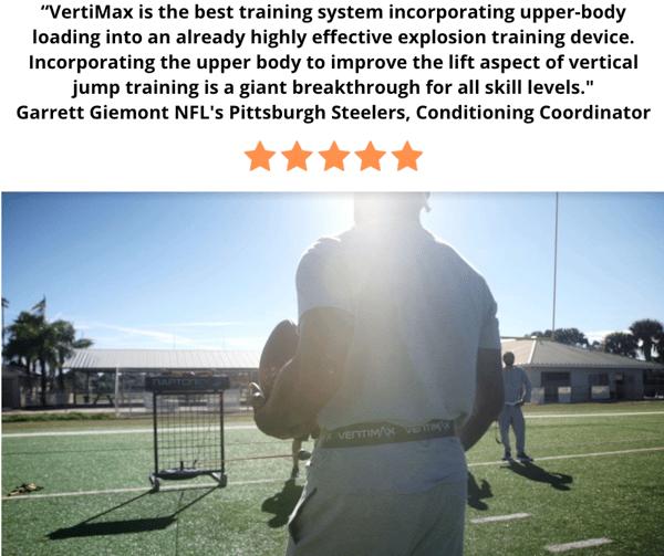 NFL pittsburgh steelers vertimax jump training