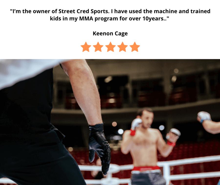 MMA Training using VertiMax - 153kb