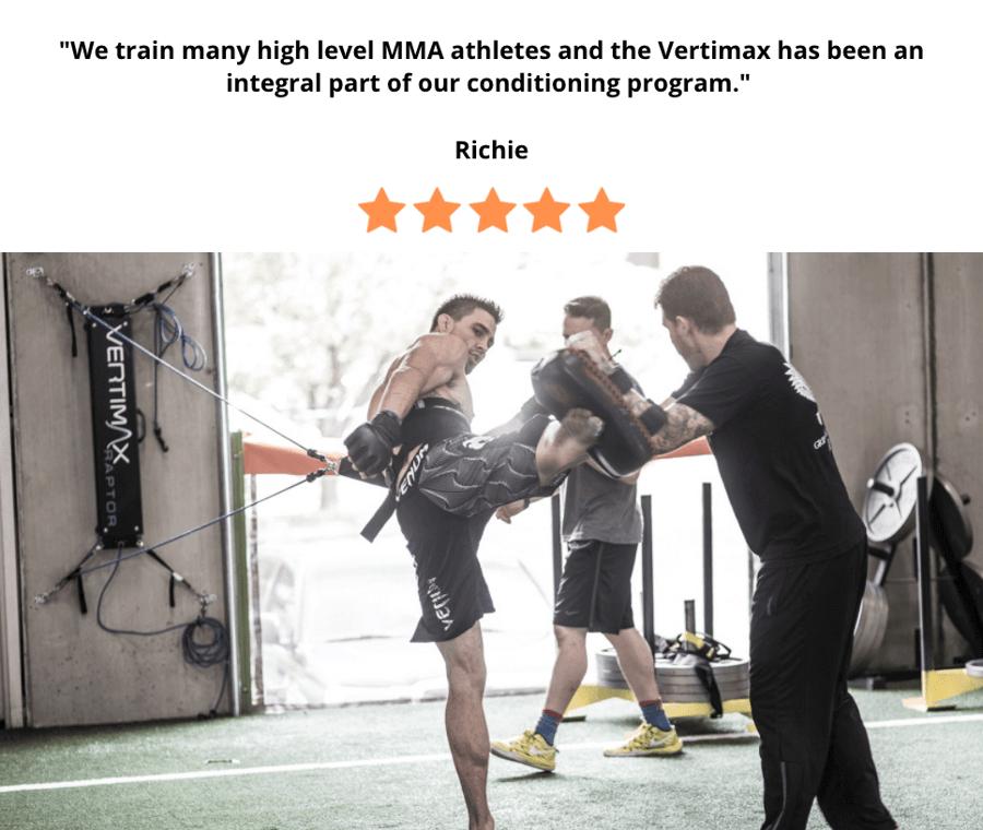 MMA training on vertimax raptor - 247kb