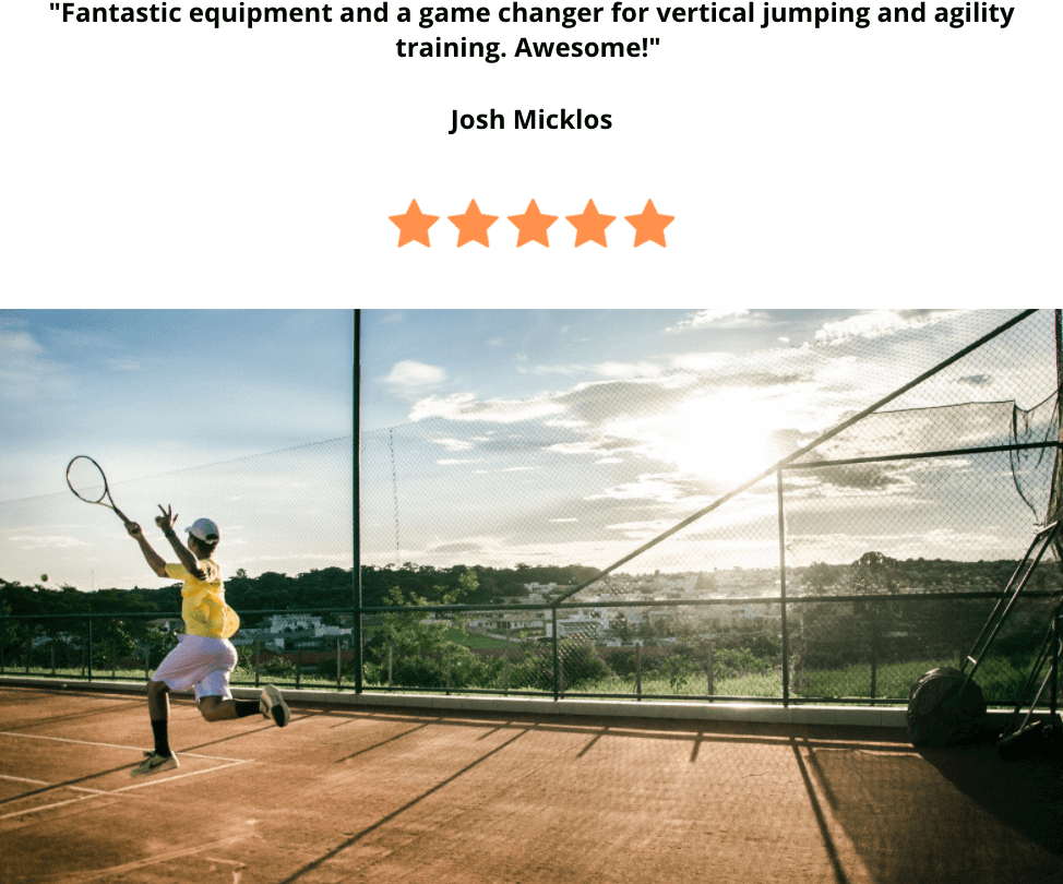 Tennis training for vertical jump and agility