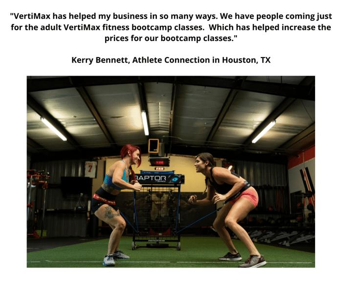 Vertimax bootcamp fitness  training-Kerry Bennett
