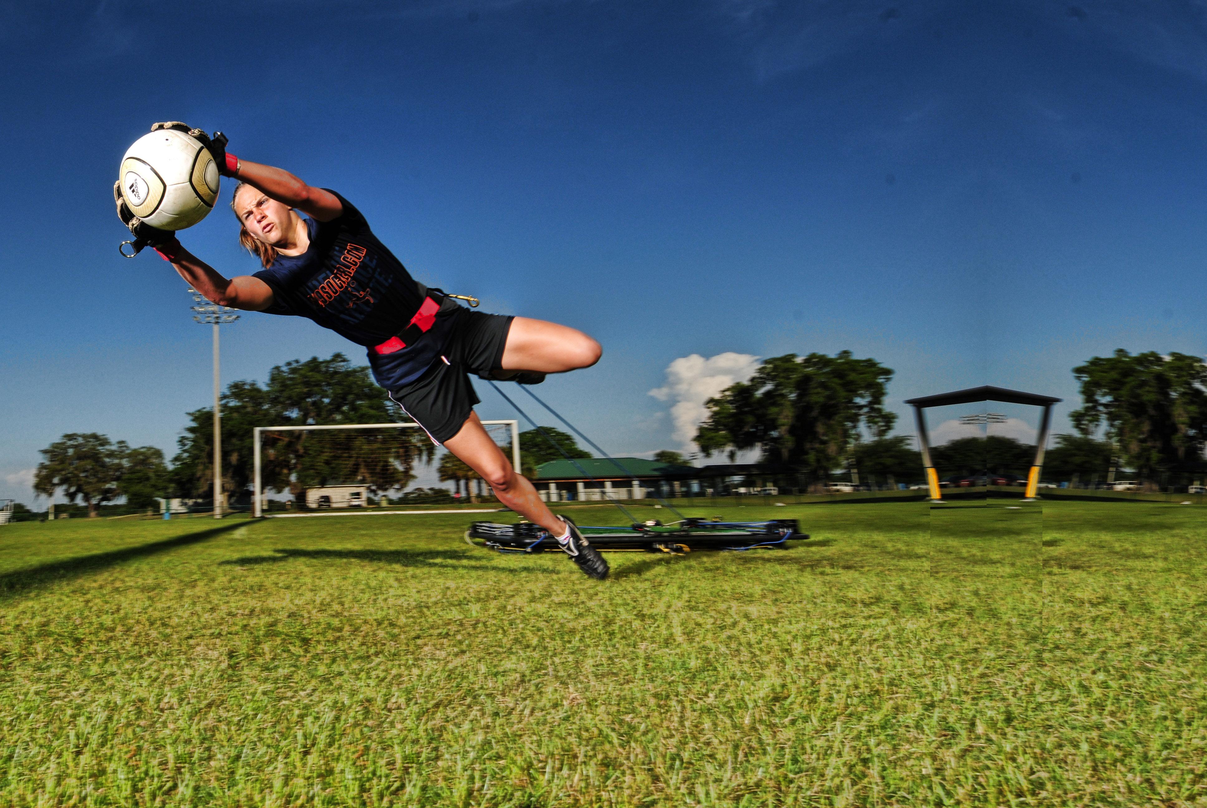 soccer training vertimax